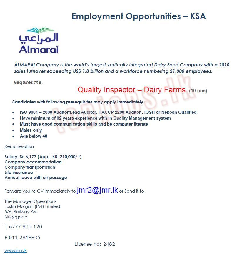 Iso 9001 auditor salary